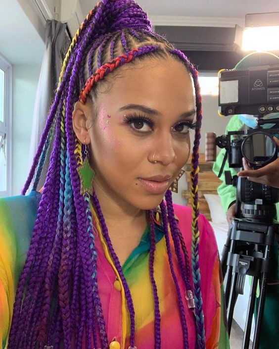 Ghana Braids Styles 2021 hairstyleforblackwomen.net 1819
