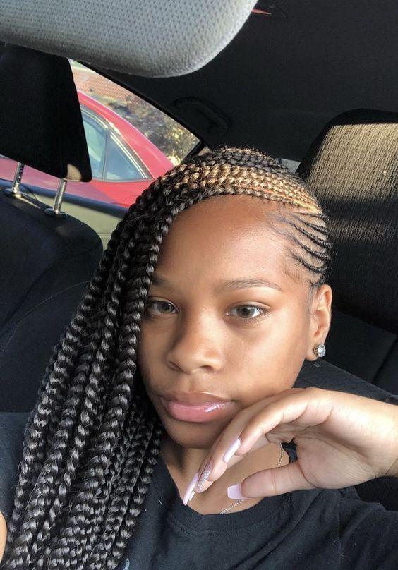 Ghana Braids Styles 2021 hairstyleforblackwomen.net 3441