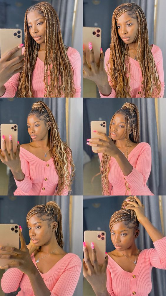 Ghana Braids Styles 2021 hairstyleforblackwomen.net 3957