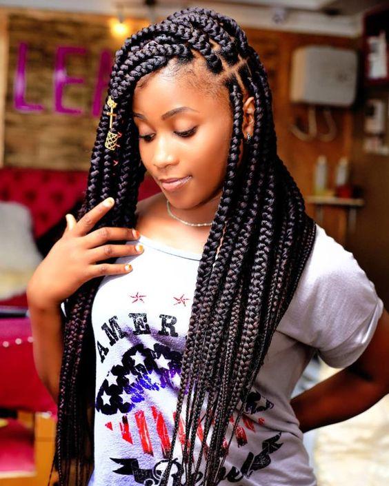 Ghana Braids Styles 2021 hairstyleforblackwomen.net 4480
