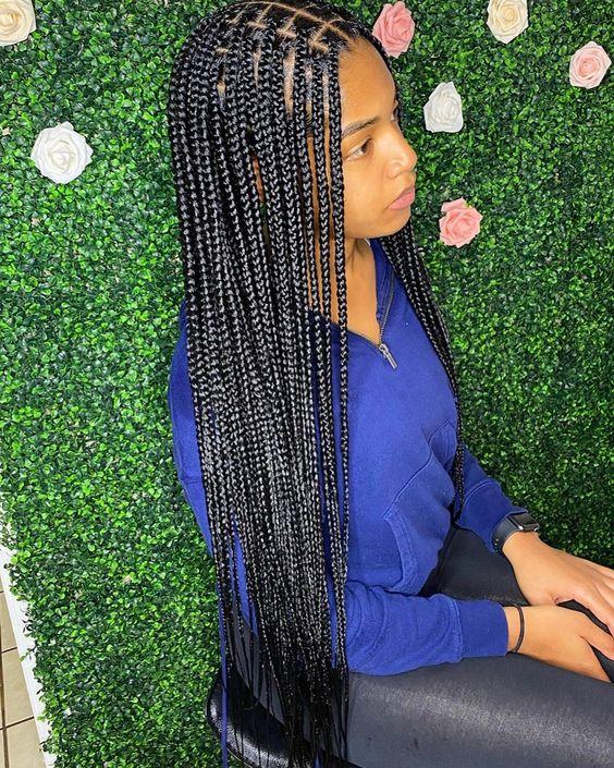 Ghana Braids Styles 2021 hairstyleforblackwomen.net 577