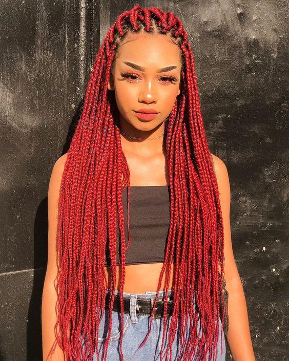 Ghana Braids Styles 2021 hairstyleforblackwomen.net 582