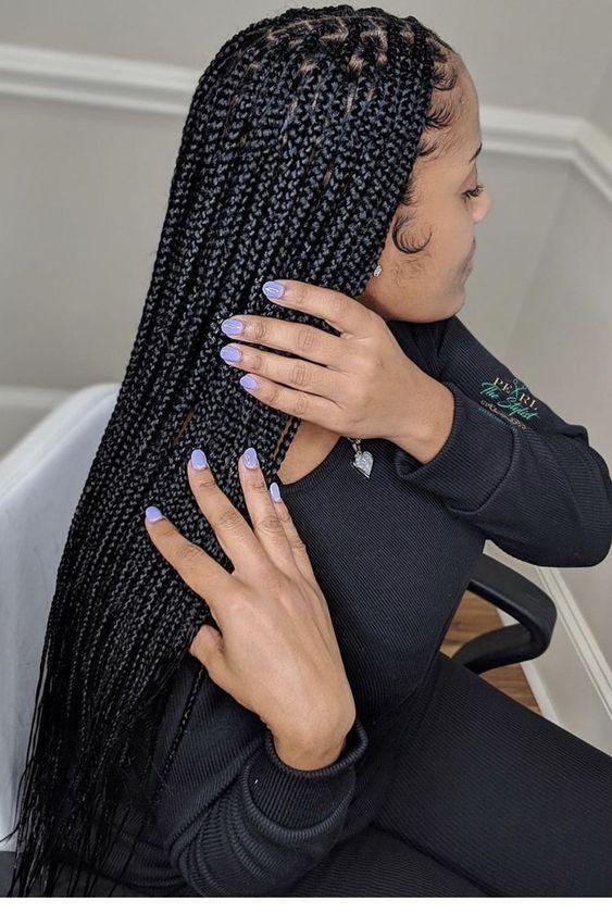 Ghana Braids Styles 2021 hairstyleforblackwomen.net 721