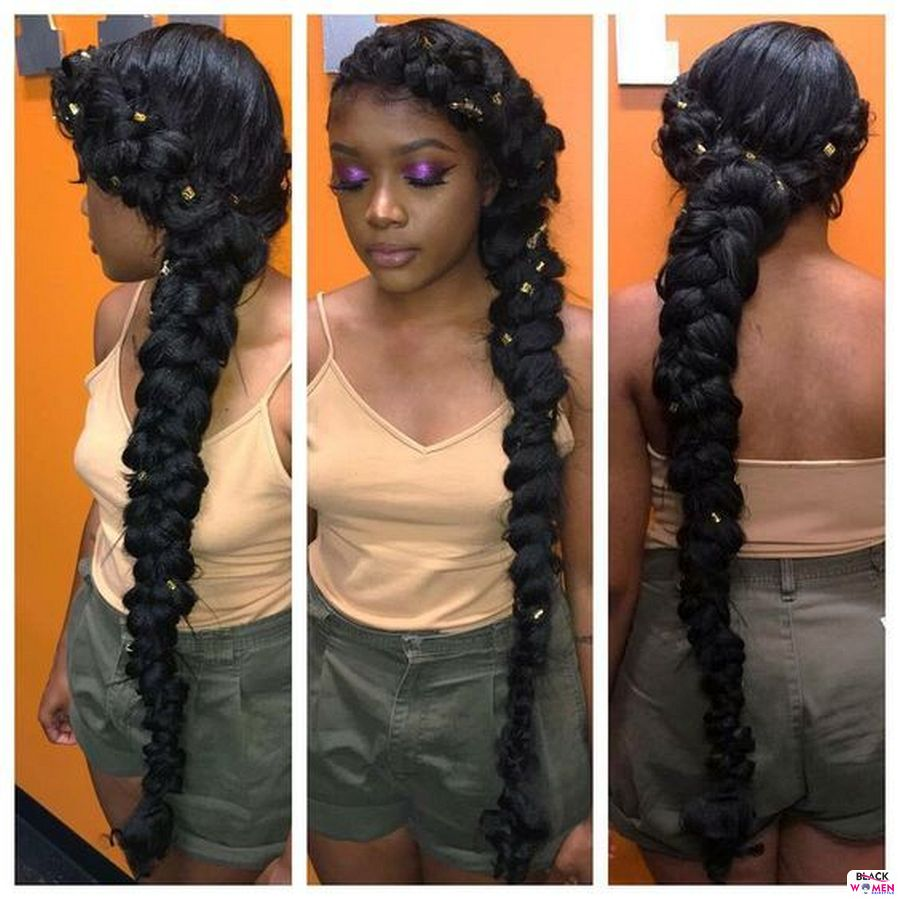 Ghana Weaving Goddness Braid French Braid 005