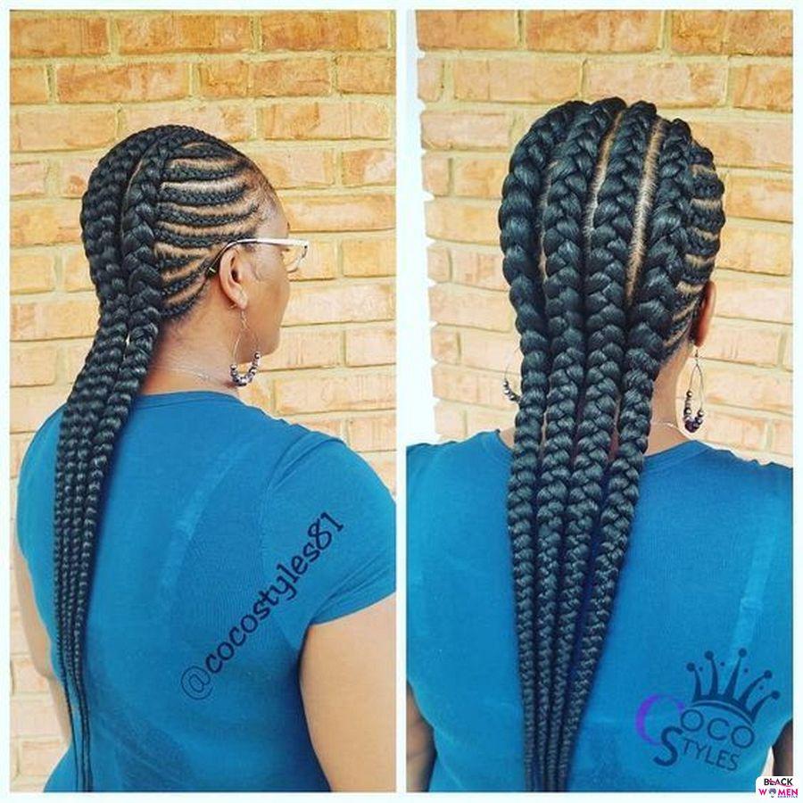 Ghana Weaving Goddness Braid French Braid 006