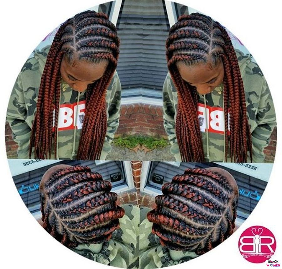 Ghana Weaving Goddness Braid French Braid 009