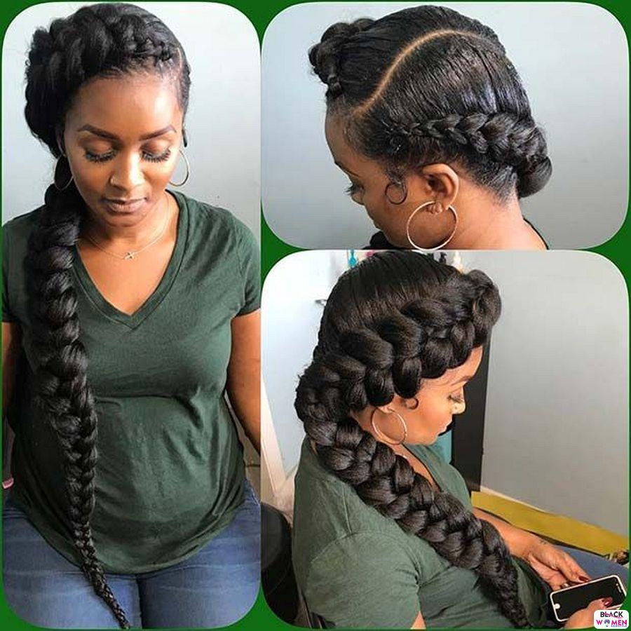 Ghana Weaving Goddness Braid French Braid 013