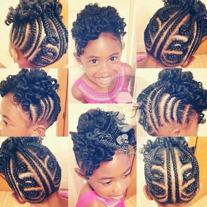 Hairstyles Ideas For Little Black Girls hairstyleforblackwomen.net 910