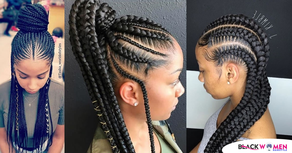Just a Few Photos of Ghana Braids That Might Inspire You to Try the Hairstyle