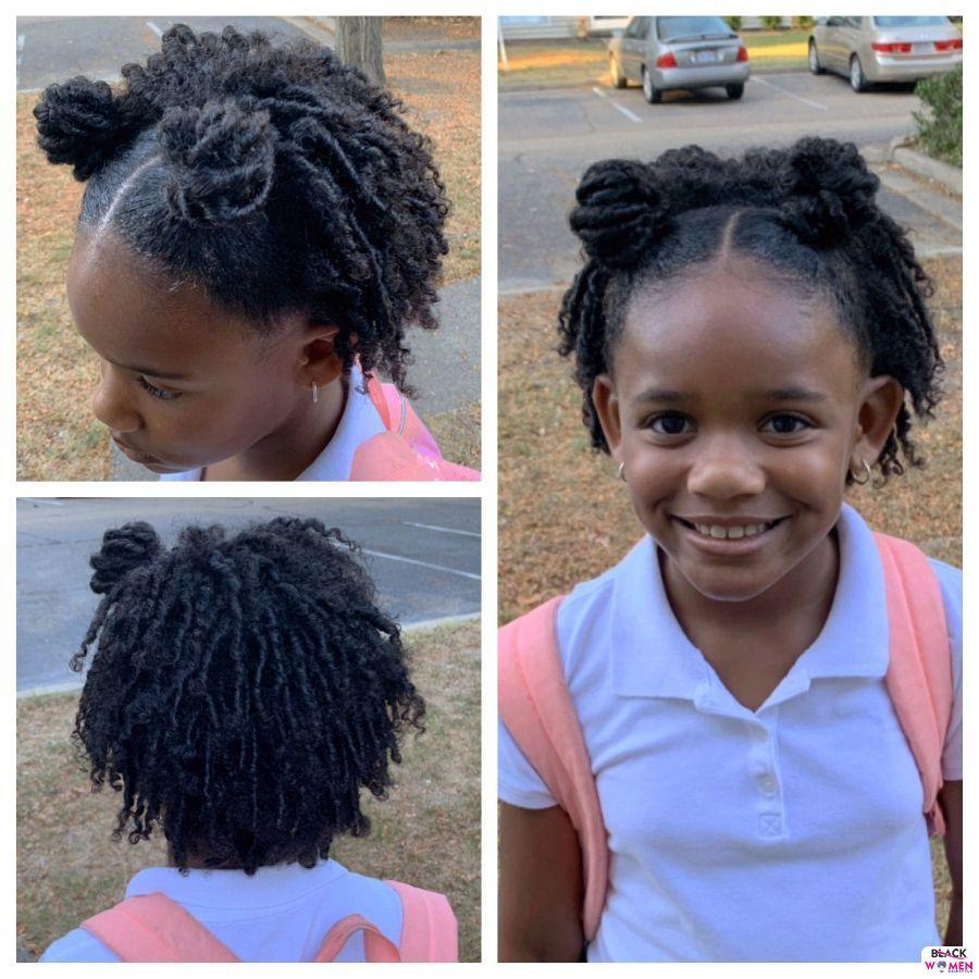 Kid hairstyles for natural hair Braids Cornrows 006