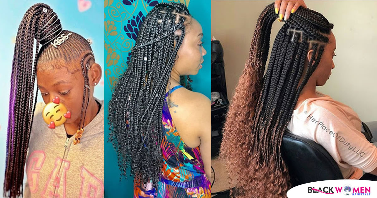 Latest African Hairstyles 2021: Best Braids Styles for ladies