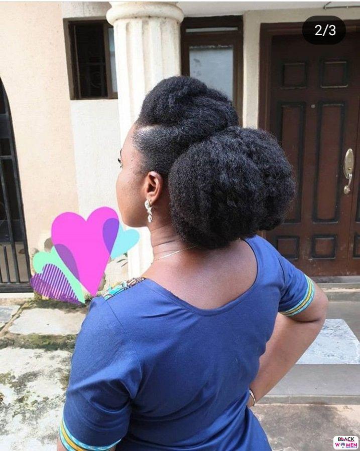 Natural Hair Updos 001