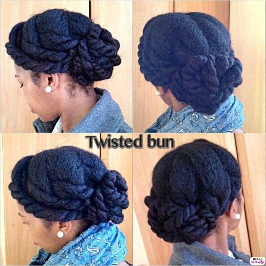 Natural Hair Updos 003