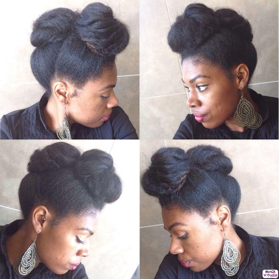 Natural Hair Updos 007