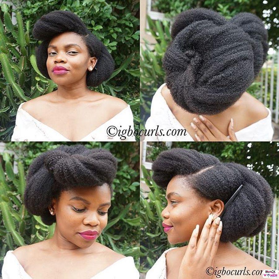 Natural Hair Updos 009