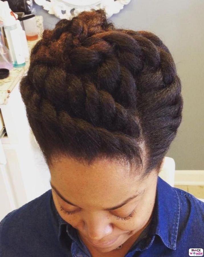Natural Hair Updos 010