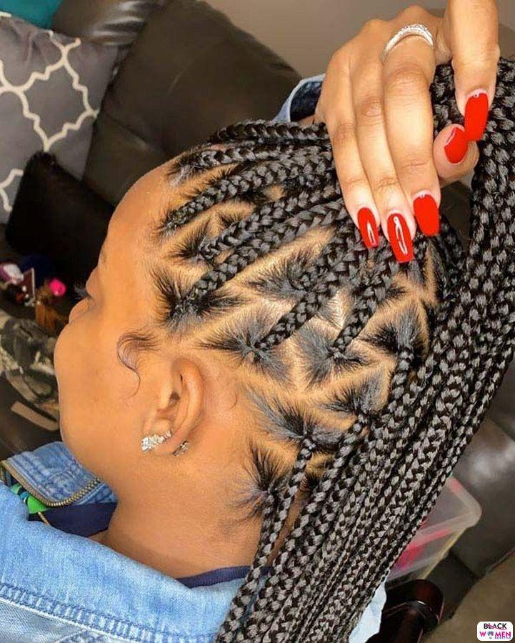 Natural Hair Updos 017