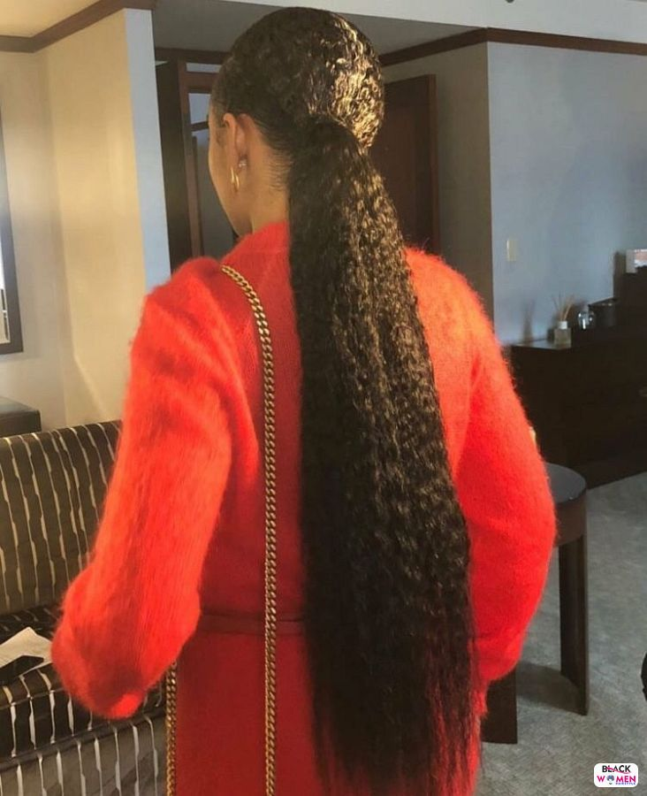 Natural hairstyles for black women 001