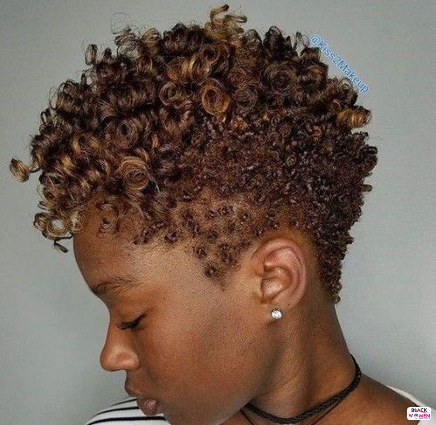 Natural hairstyles for black women 002