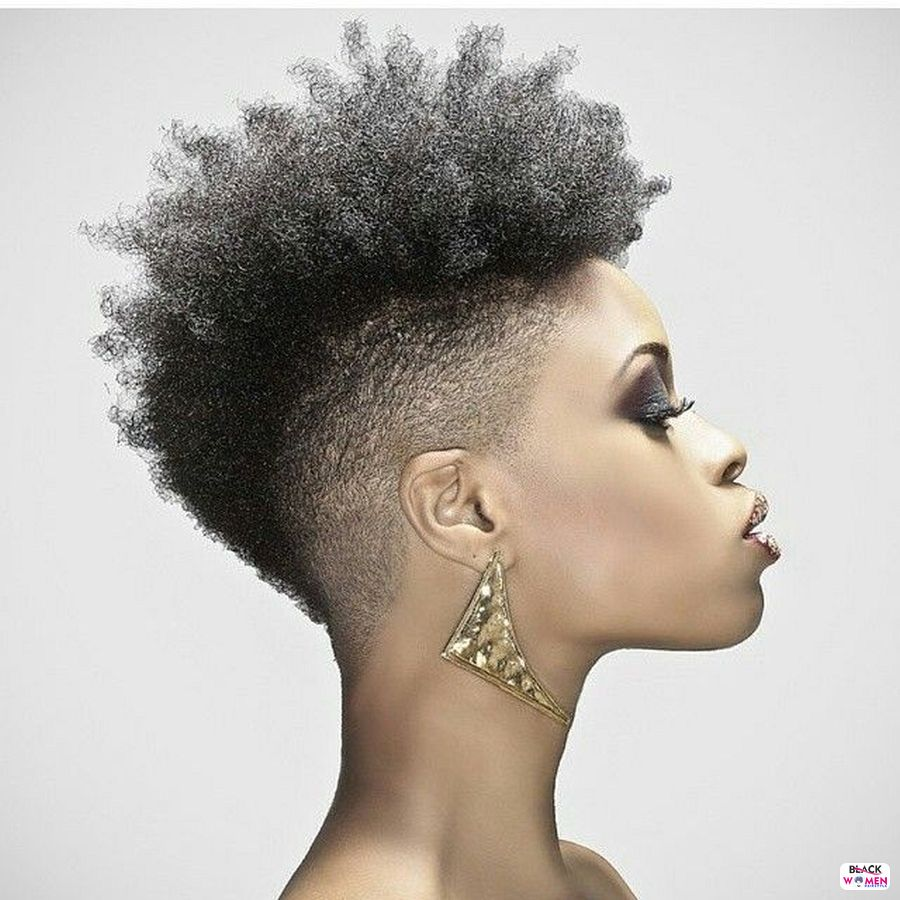 Natural hairstyles for black women 010
