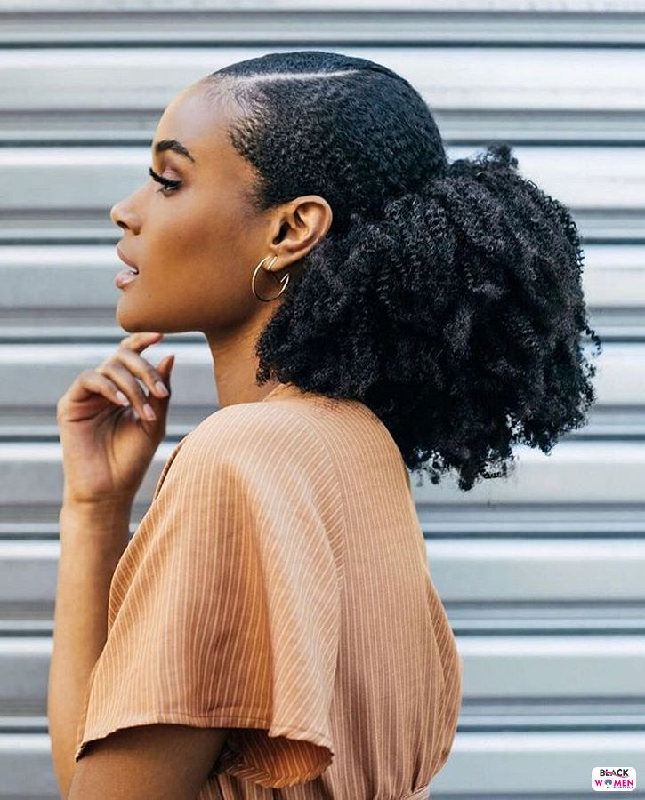 Natural hairstyles for black women 013