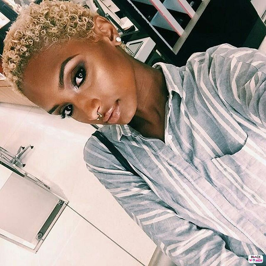 Natural hairstyles for black women 019