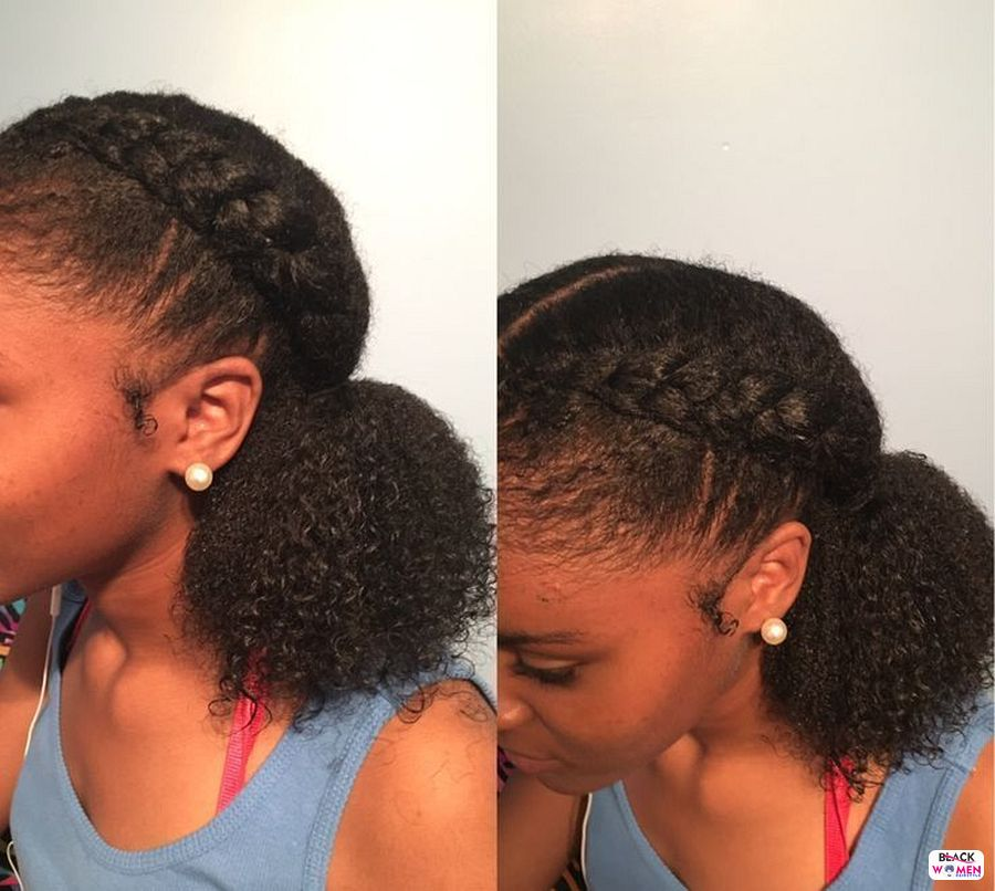 Natural hairstyles for black women 021