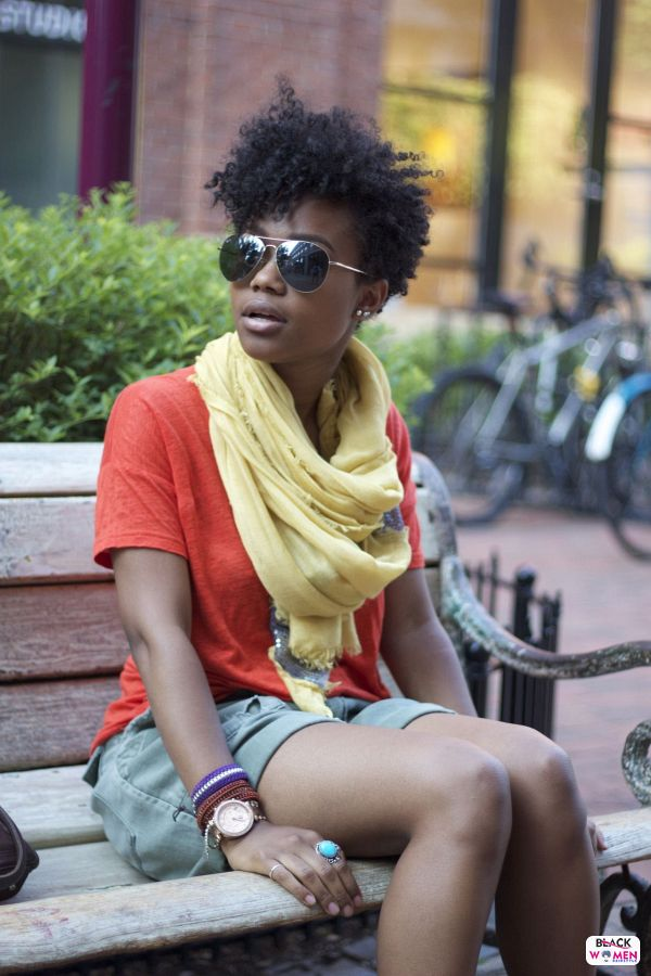 Natural hairstyles for black women 035