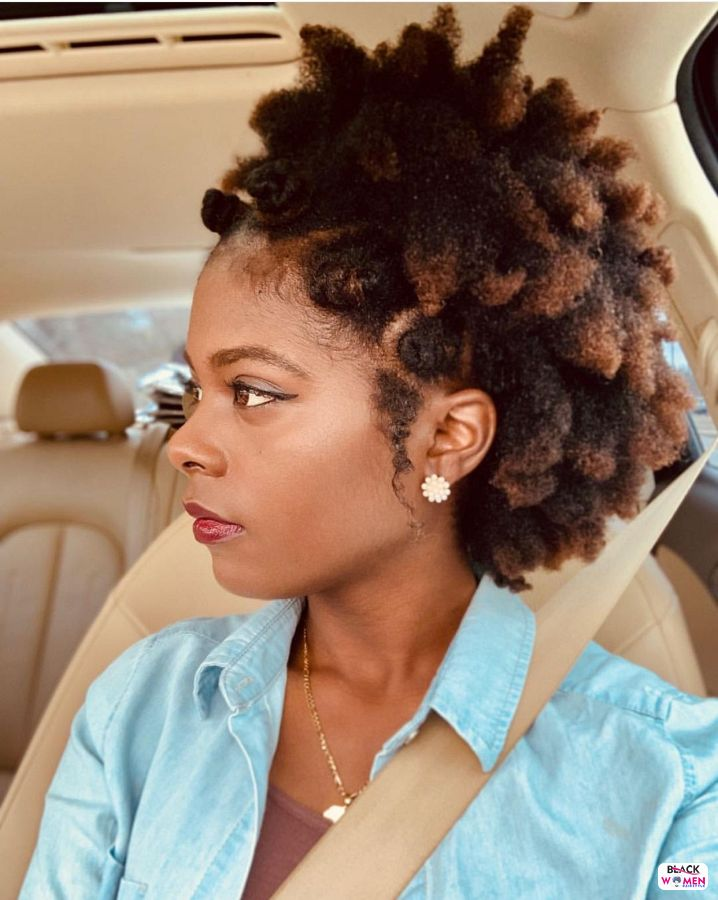 Natural hairstyles for black women 037