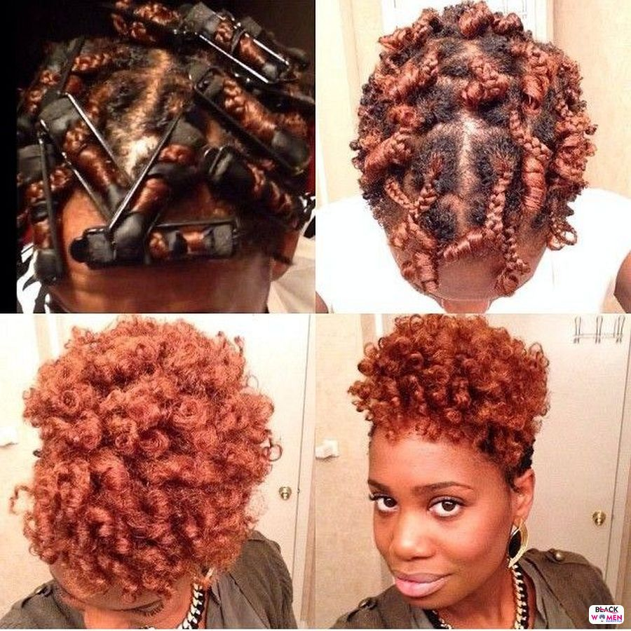 Natural hairstyles for black women 039