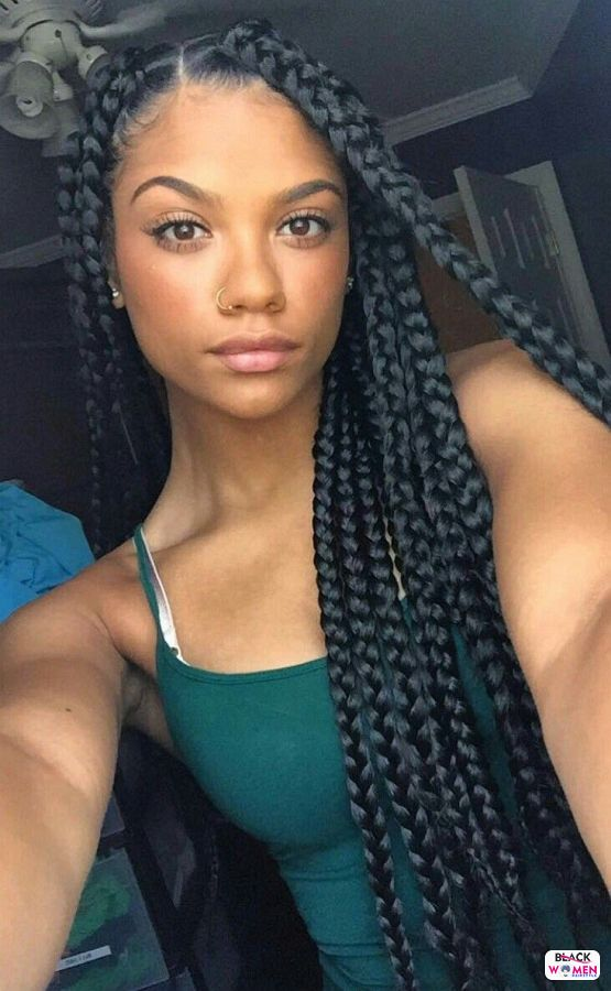 Natural hairstyles for black women 041