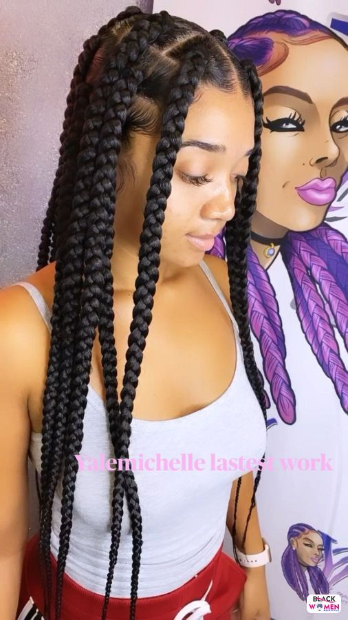 Natural hairstyles for black women 044