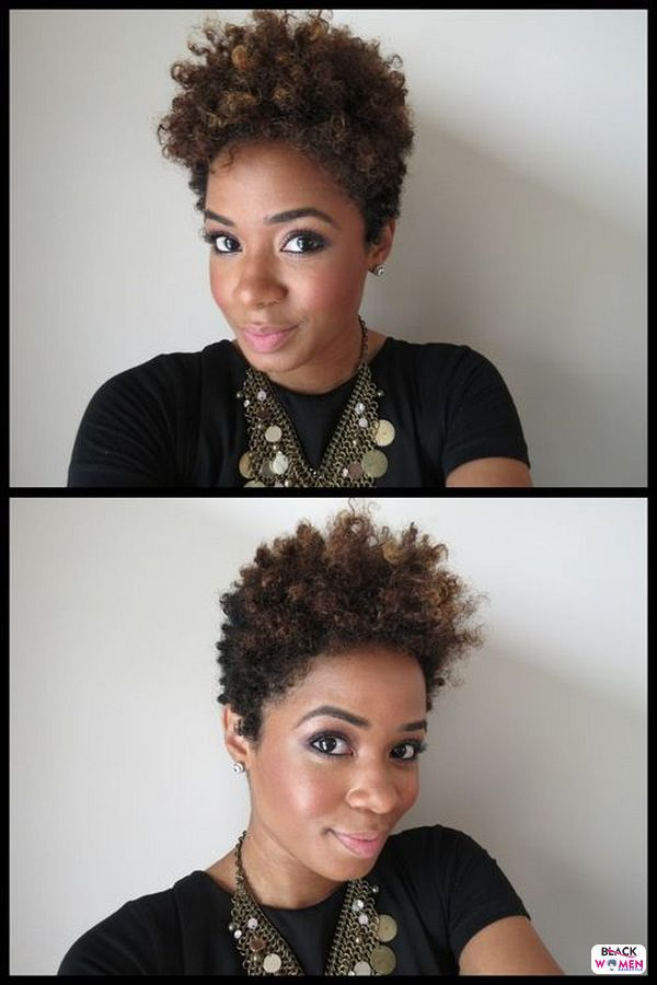 Natural hairstyles for black women 046