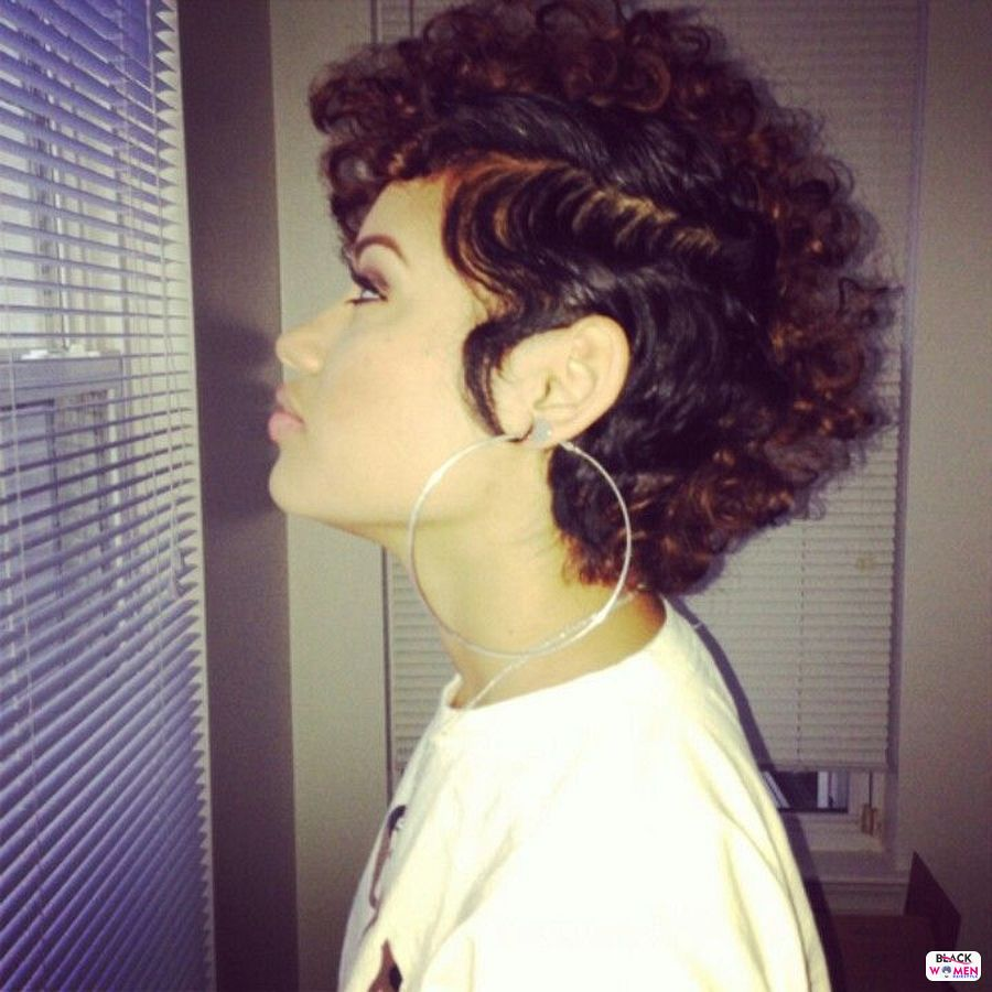 Natural hairstyles for black women 047