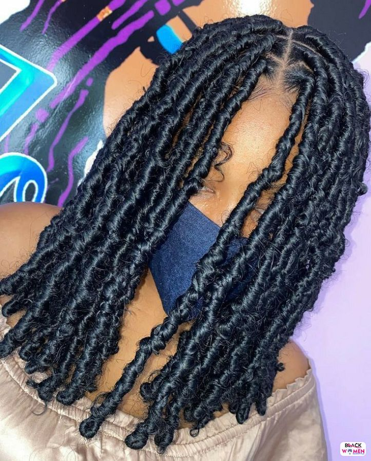 Natural hairstyles for black women 053