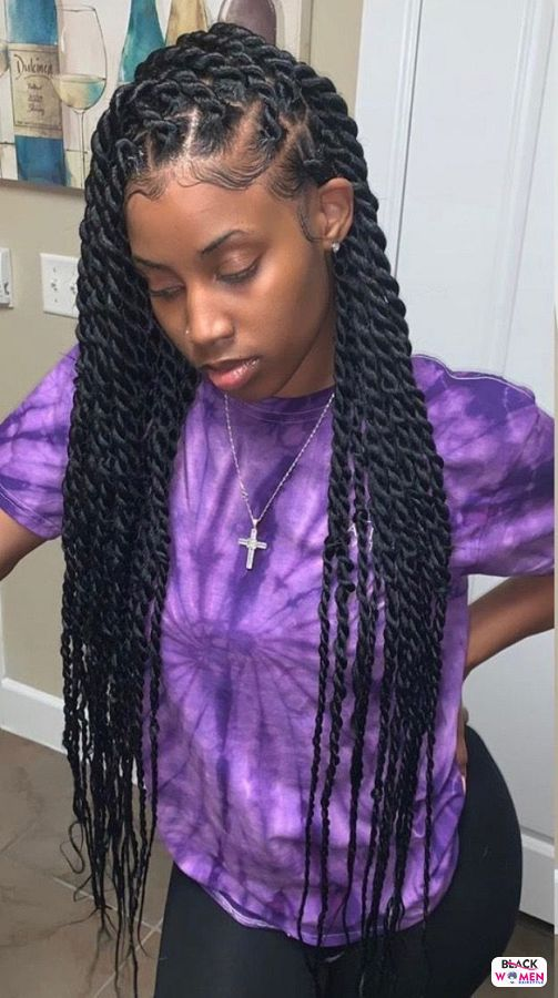 Natural hairstyles for black women 055