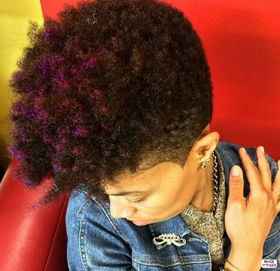 Natural hairstyles for black women 095