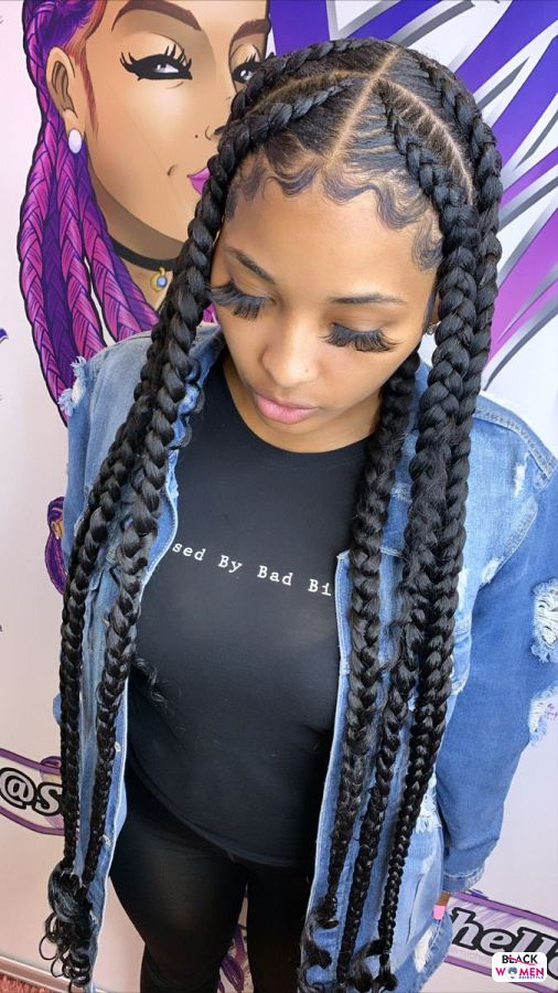 Natural hairstyles for black women 098