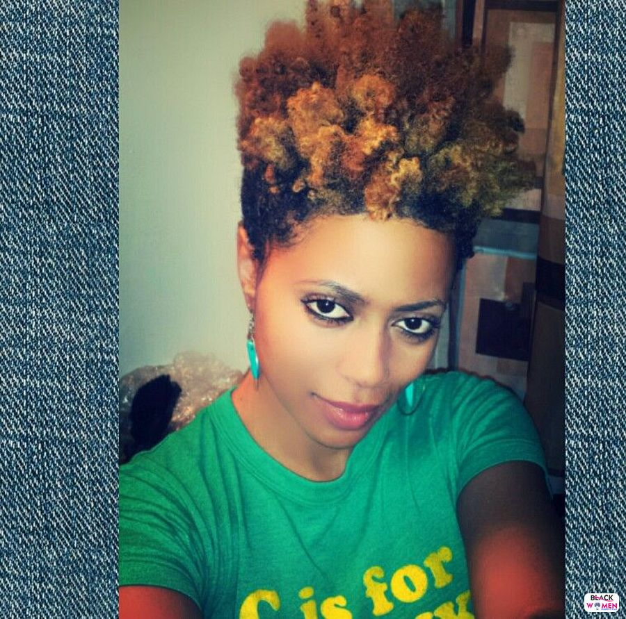 Natural hairstyles for black women 109