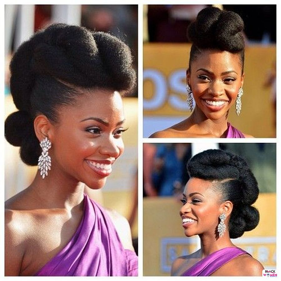 Natural hairstyles for black women 110