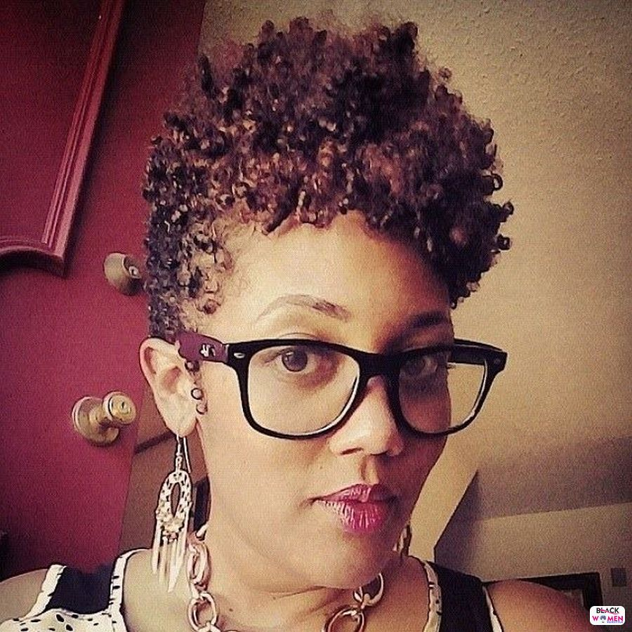 Natural hairstyles for black women 124