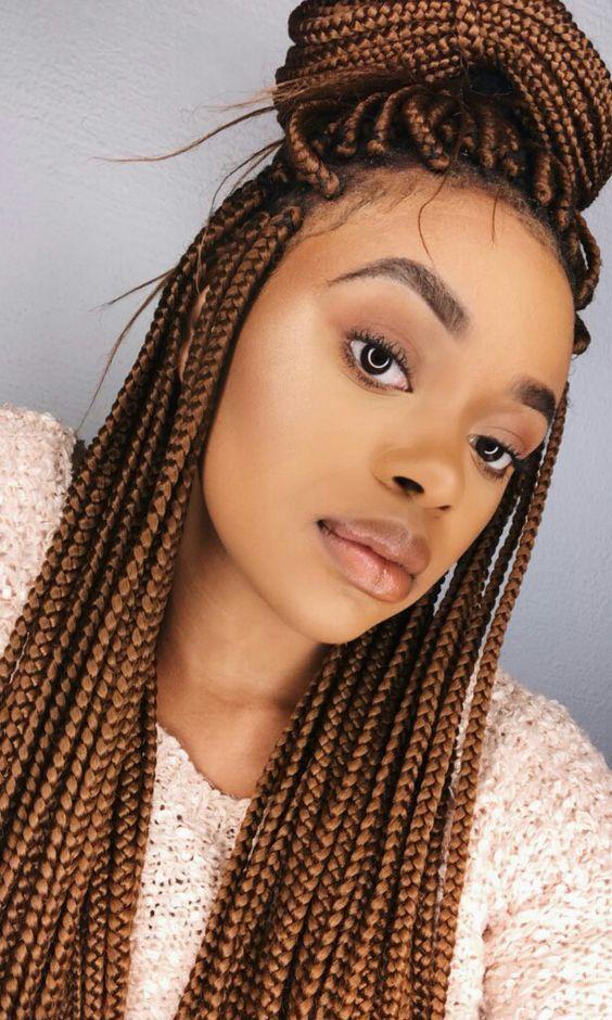Plait braiding hair options for black women