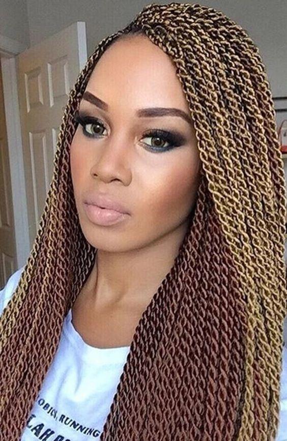 Senegalese Twist Braids Hair 2