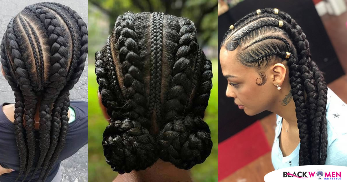 Stunningly Cute Ghanaian Braids Styles For 2021