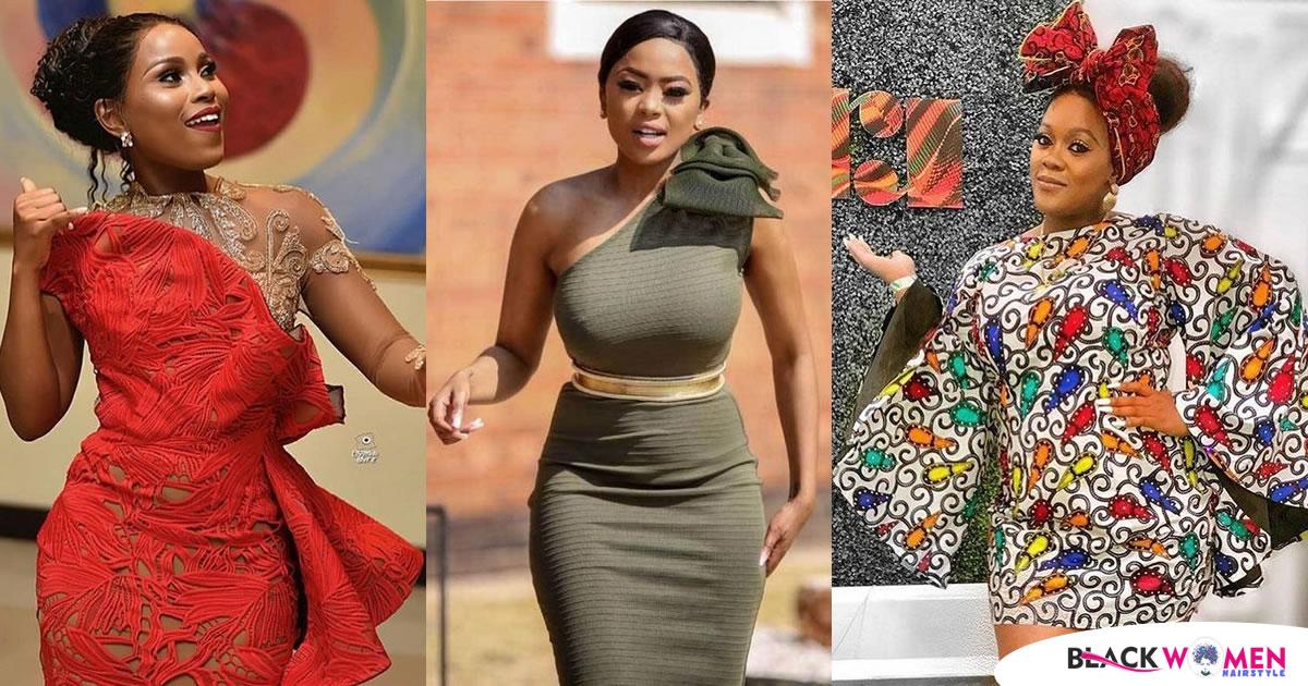Trendy Ankara Wears For Divas In 2021: Beautiful Ankara Short Gowns Compilation