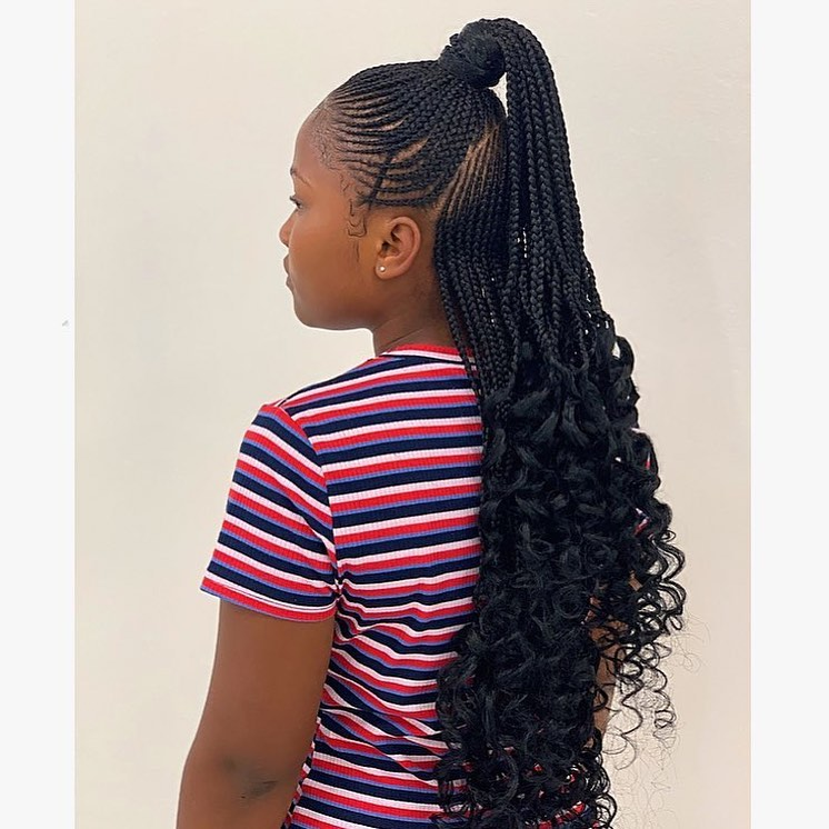feed in braids hairstyles 2019 6