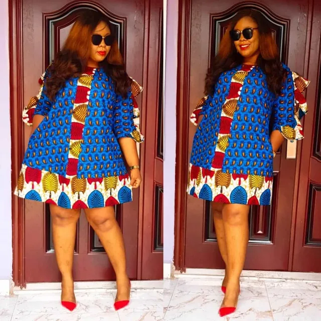 13 PHOTOS Classy Ankara Styles For Women Unique African Dress Inspirations 1 1024x1024 1