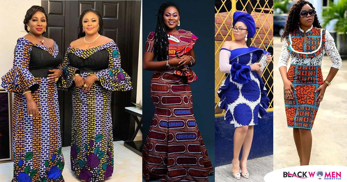 24 PHOTOS: Latest African Fashion – Elegant Ankara Styles For Church