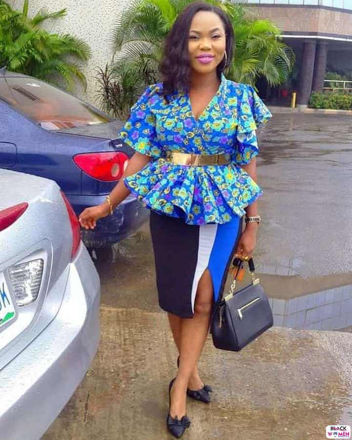 30 PICTURES Attractive African Fashion Designers Ankara Styles For Women 12