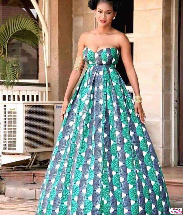 30 PICTURES Attractive African Fashion Designers Ankara Styles For Women 7